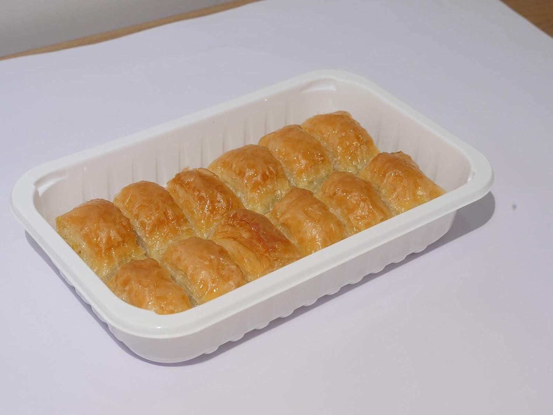 Turkish Handmade Pistachios Baklava Pastry 1 Lb Mediterranean Dessert Gift Box Sweets
