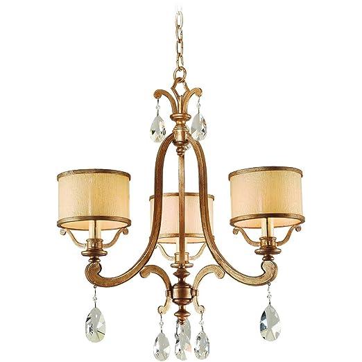Amazon.com: Chandeliers - Lámpara de techo con 3 focos ...