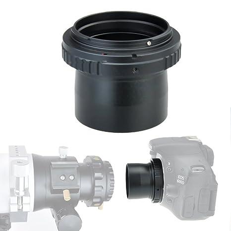 2 pulgadas Ultra Wide telescopio cámara adaptador 42 mm para Canon ...