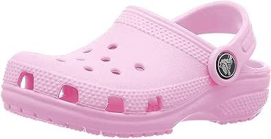 Crocs Classic Clog Kids Roomy fit Zuecos Unisex niños, Rojo (Pepper 6En), 27/28 EU