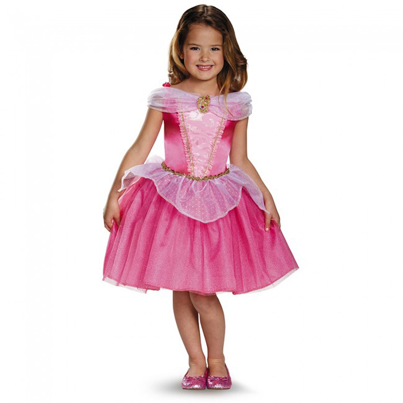 Amazon.com: Aurora Classic Disney Princess Sleeping Beauty Costume ...