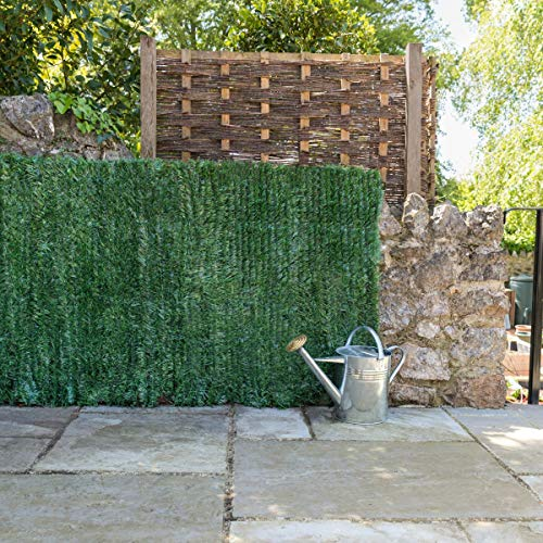 Christow Artificial Hedge Roll, Conifer Leaf Screening, Privacy Fence  Screen, UV-Resistant, 1m x 3m (9ft 10