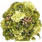 Admired-By-Nature-GPB1126-Seamist-24-Stems-Faux-Peony-Ranunculus-Mix-Flower-Bush-Seamist