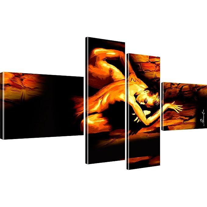 5 Bilder 175x100 Siter Bild auf Leinwand XXL Corrida