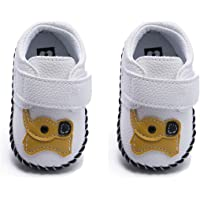 BEBARFER Baby Boys Girls Shoes Cartoon Crawling Slippers Soft Moccasins Toddler Infant Crib Pre-Walkers First Walkers…