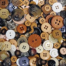 Blumenthal Lansing Company Favorite Findings 4-Ounce Big Bag of Buttons, Natural