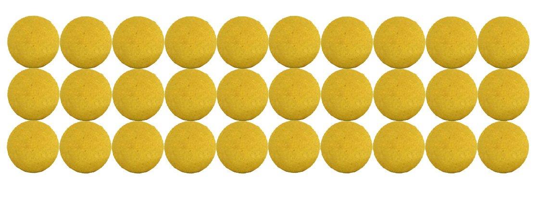 30 Kugeln für Kicker, TischfussballKugel-Korken Gelb - Bonzini