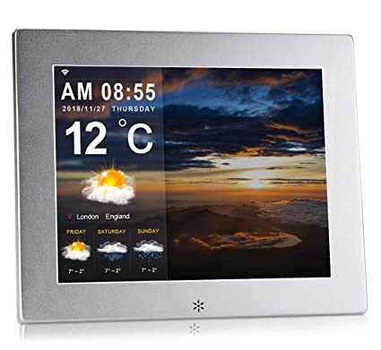 Digital Calendar.Dayclox The Original Memory Loss Digital Calendar Day Clock With Extra Large Non Abbreviated Day Month Perfect For Seniors