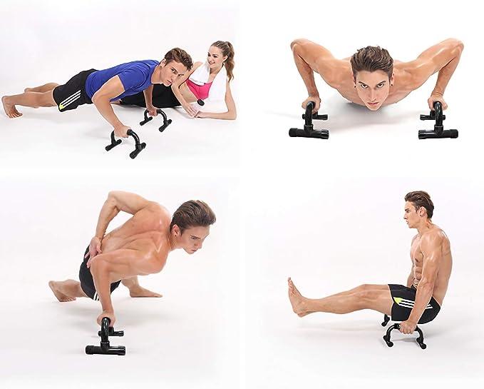 Pushup Kneipen Perfekte Muskel St/ände Push Up Griffe F/ür M/änner Und Frauen Workout Push Up /Übung Blau Schwarz 1Set