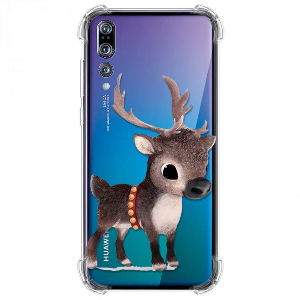 Amazon.com: KCHHA Phone case Animals TPU for Huawei P20 P30 ...