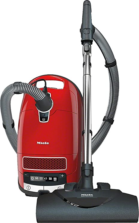 Miele Complete C3 Electro EcoLine Aspirateur avec Sac Rouge