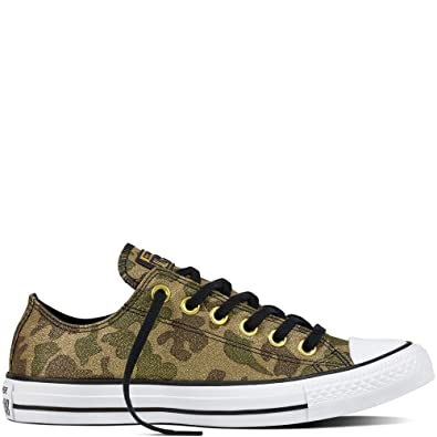 ee28f2aaf3f6 Converse Women s Chuck Taylor CTAS Ox Cotton Fitness Shoes  Amazon ...