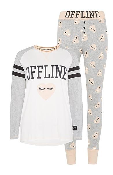 Primark - Pijama - para Mujer Marfil
