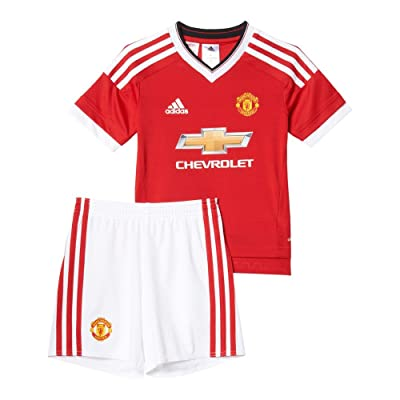 Adidas 2015/16 Manchester United FC Home Mini Kit [REARED]