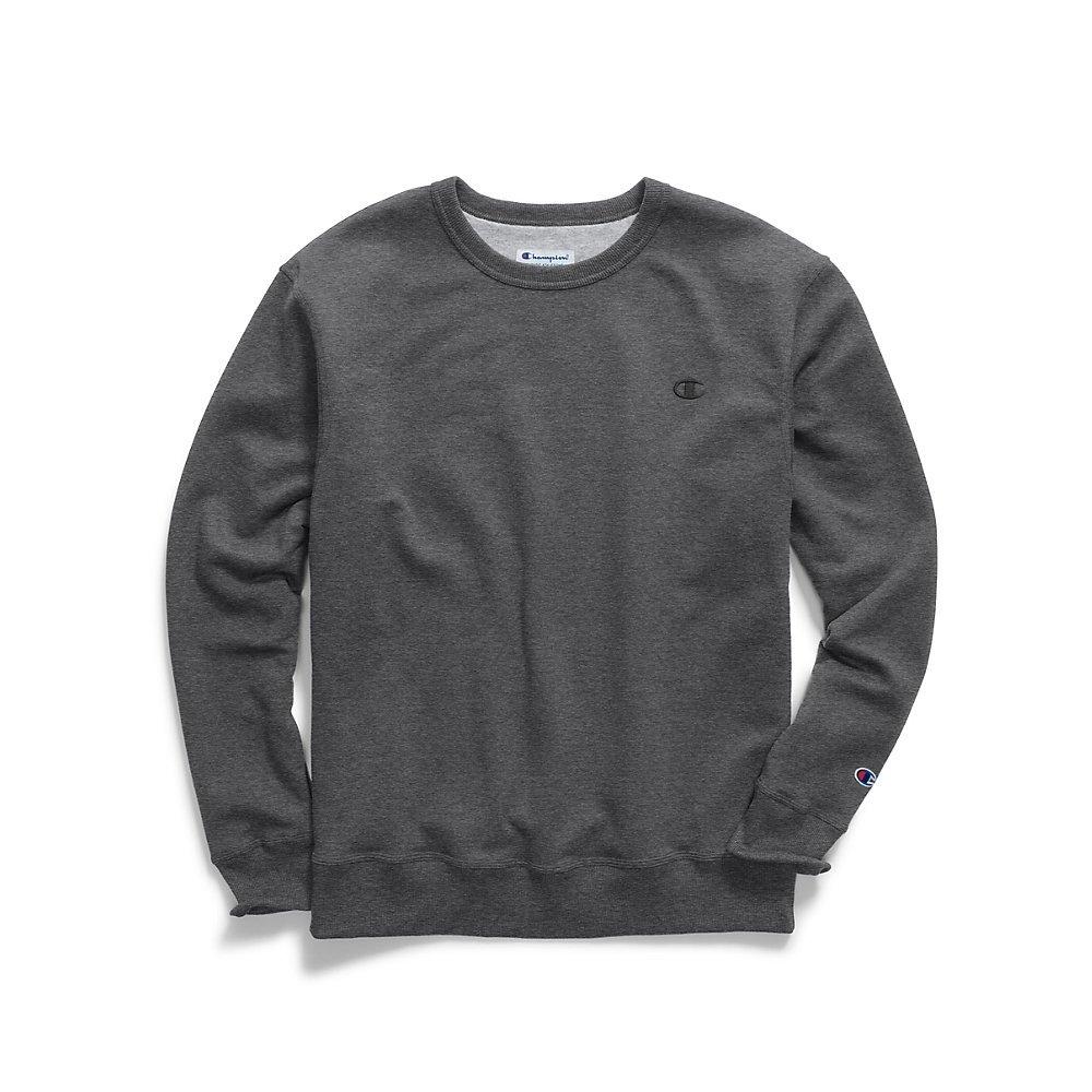 gris Graphite XXXX-grand Tall Champion – Sweat-shirt – Manches longues – pour homme