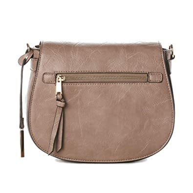 043b9f55cfc9 Image Unavailable. Image not available for. Color  Jeane   Jax Women s Vegan  Camille Zip Flap Crossbody