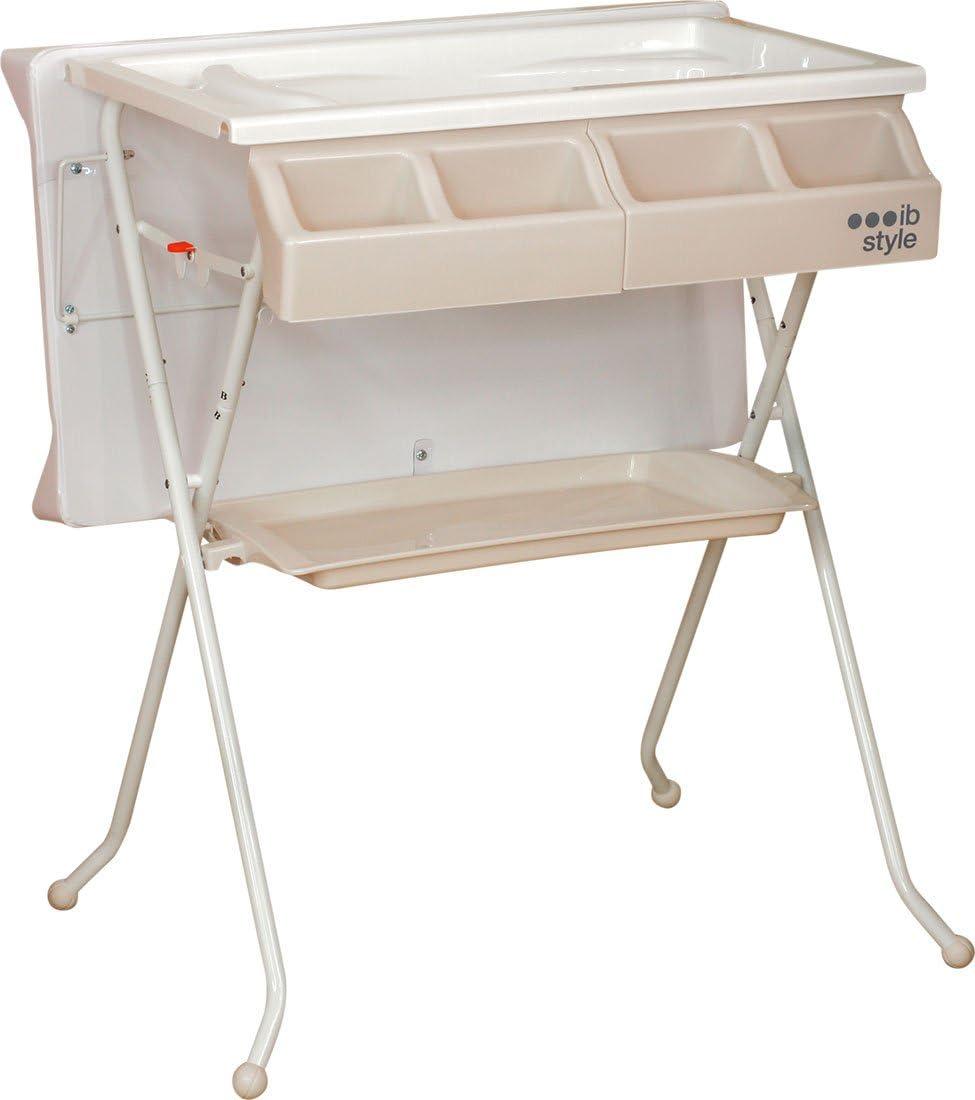 D/écorFriends IB-Style Table /à langer pliable avec baignoire Commode avec matelas /à langer