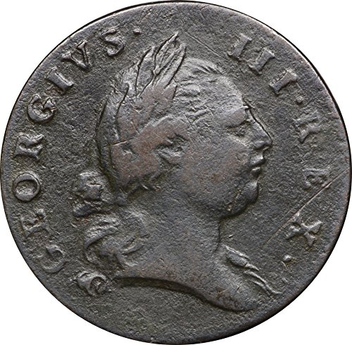 1788 Virginia Half Penny 1/2P, EF Details, Surface Roughness but Attractive, Extremely Fine (Half Penny Rare)
