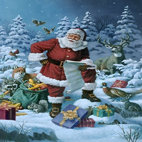 Bazaar Christmas Party Flag Indoor Outdoor Home Decor Christmas Night Decoration Santa Claus Garden Flag Big Bazaar