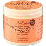 Shea Moisture Coconut and Hibiscus Curl Enhancing Smoothie, 16 Ounce Family Size