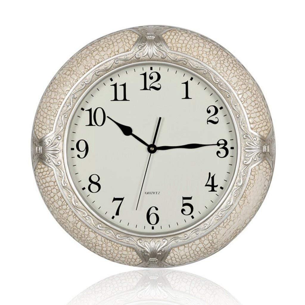ホームデコレーションクリエイティブパーソナリティウォールクロックJYT、 リビングルームのミュートクロック寝室の時計レストランの時計 ファッション雑貨   B07RDJTHT5