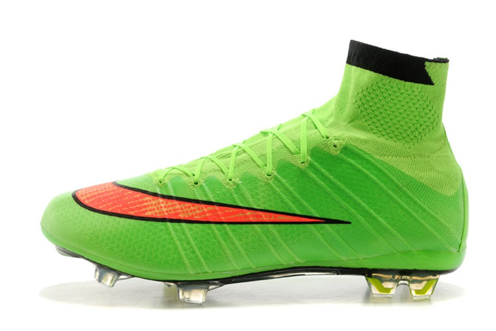 buy online 3ead9 fefb5 Mens Mercurial X Superfly IV FG - Green-Hyper Punch-Black High Top Football  Shoes Soccer Boots  Amazon.co.uk  Sports   Outdoors