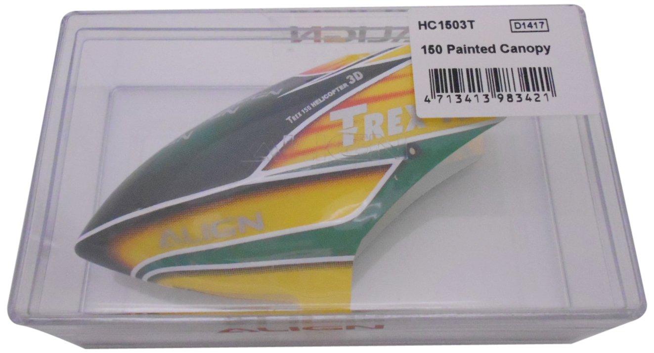 HC1503 - ALIGN T-REX 150 Kabinenhaube gelb/grün