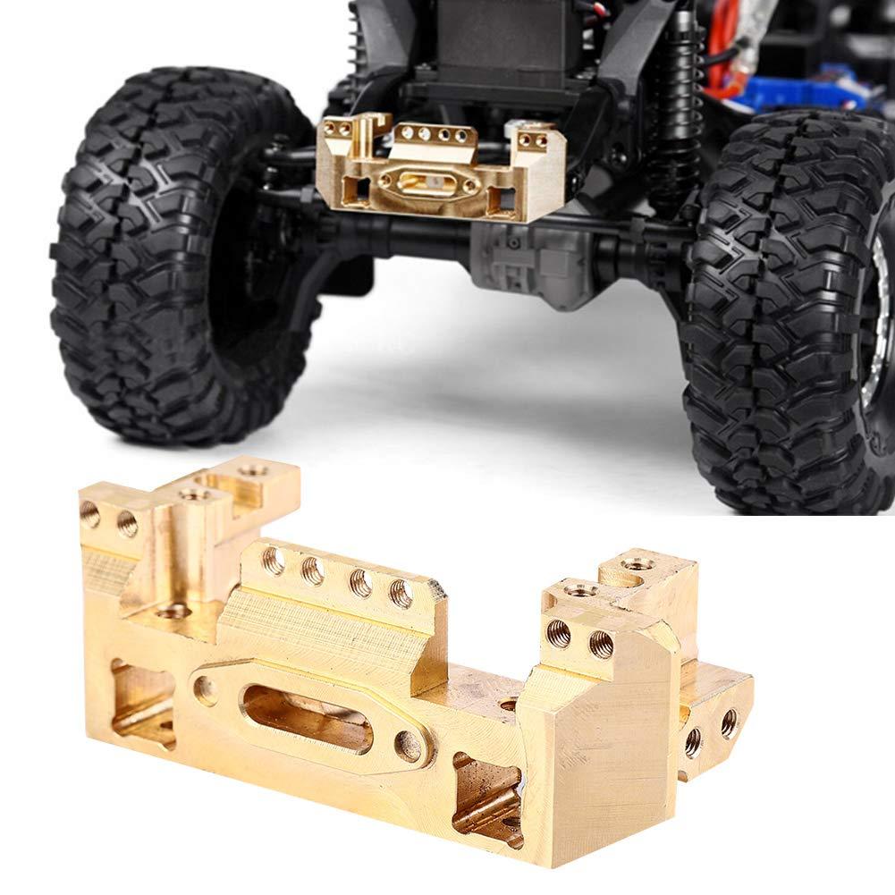 Woyisisi RC Front Copper Servo Bracket Bumper Base de Haz para TRX4 RC Car