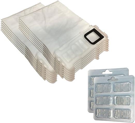 Juego 12 Bolsas/Bolsas (Microfibra) + 12 Ambientadores para ...