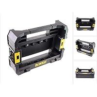DEWALT DT70716-QZ TSTAK Caddy Case FLEXTORQ, Black/Yellow