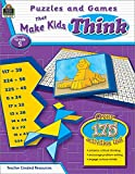 Puzzles and Games That Make Kids Think, Grade 5