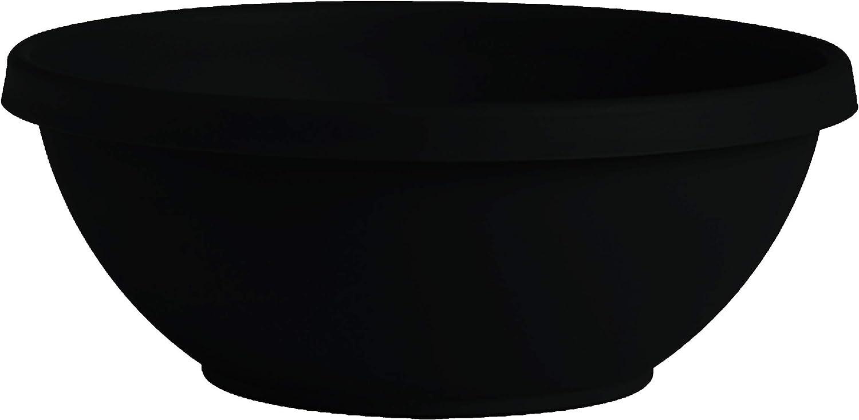 "Bloem Terra Plant Bowl Planter 14"" Black"