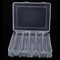 Indiacy (TM) 10compartimentos 20* 17* 4,7doble cara caja