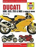 Haynes Ducati 600, 620, 750 & 900 2-valve V-twins '91 to '05 Service and Repair Manual
