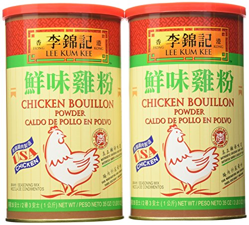 Lee Kum Kee Chicken Bouillion Powder 35oz (2 Pack) (Chicken Lee Kum Kee)