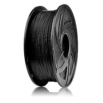 SIENOC Filamento de la impresora de la fibra de carbono 1KG 1.75mm ...