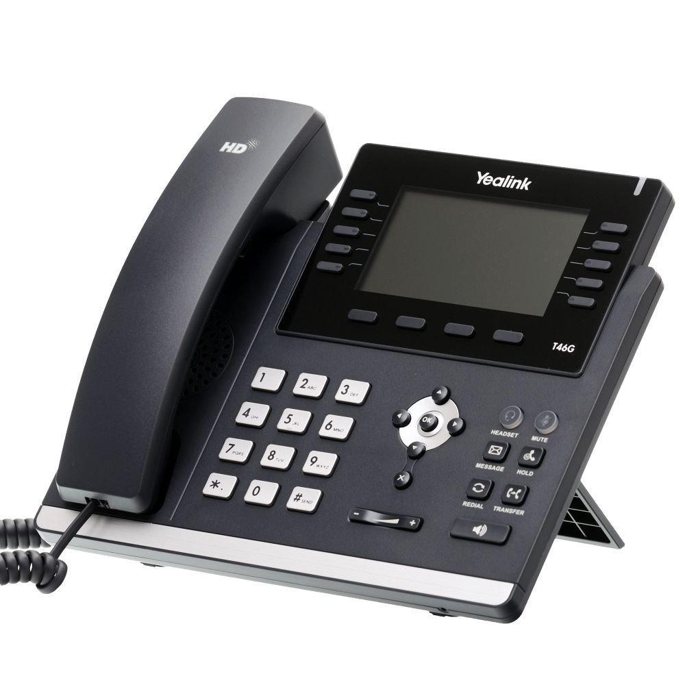 Yealink SIP-T46G Ultra-Elegant Gigabit IP Phone by Yealink