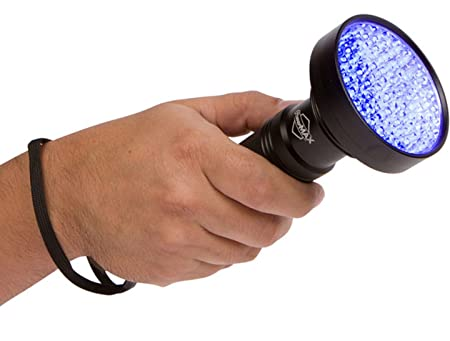 Amazon.com: Super Bright 100 LED Blacklight linterna UV ...