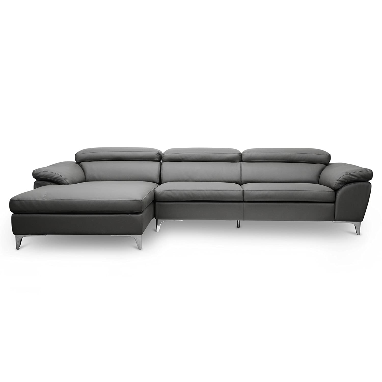 Amazon Baxton Studio 1868 CU001 LFC Voight Modern Sectional
