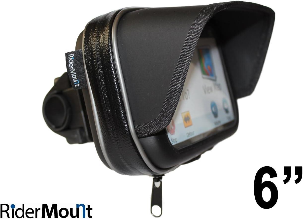 RiderMount Sunshade - Funda para GPS con Soporte para Manillar (6 Pulgadas)