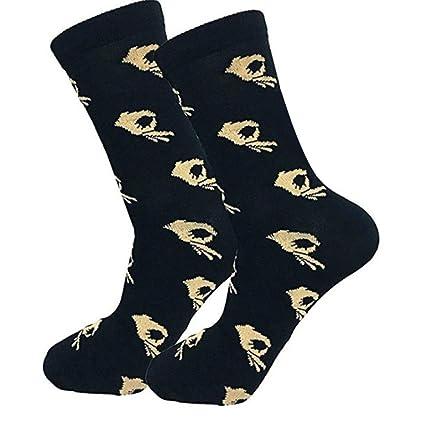 BaZhaHei-Calcetines, Calcetines de algodón Ocasionales Unisex Calcetines de Moda para Hombre calcetín Socks Mujer Medias Impresas Ocasionales de Hombres y ...
