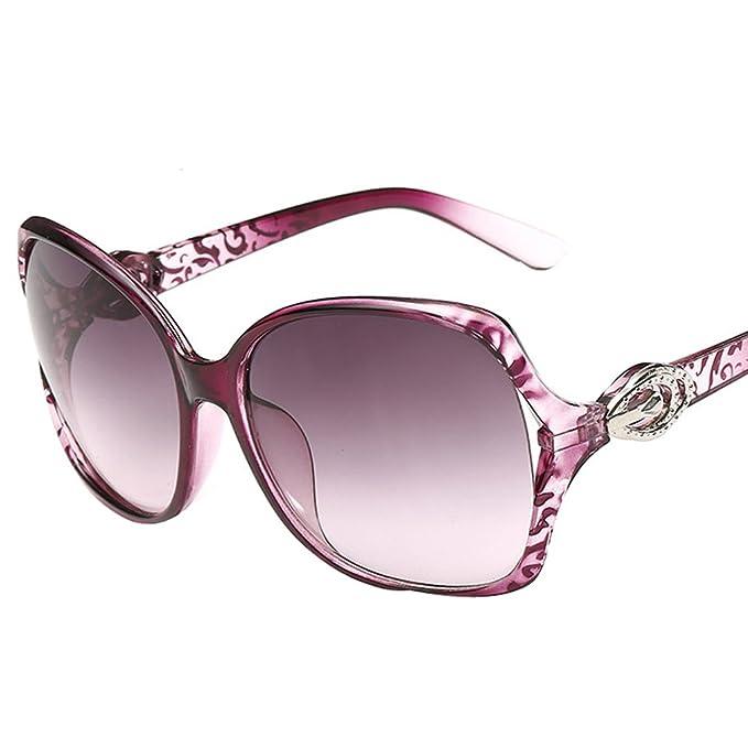 WTUS Gafas De Sol Graduadas Anti-UV Gafas De Sol Retro De ...