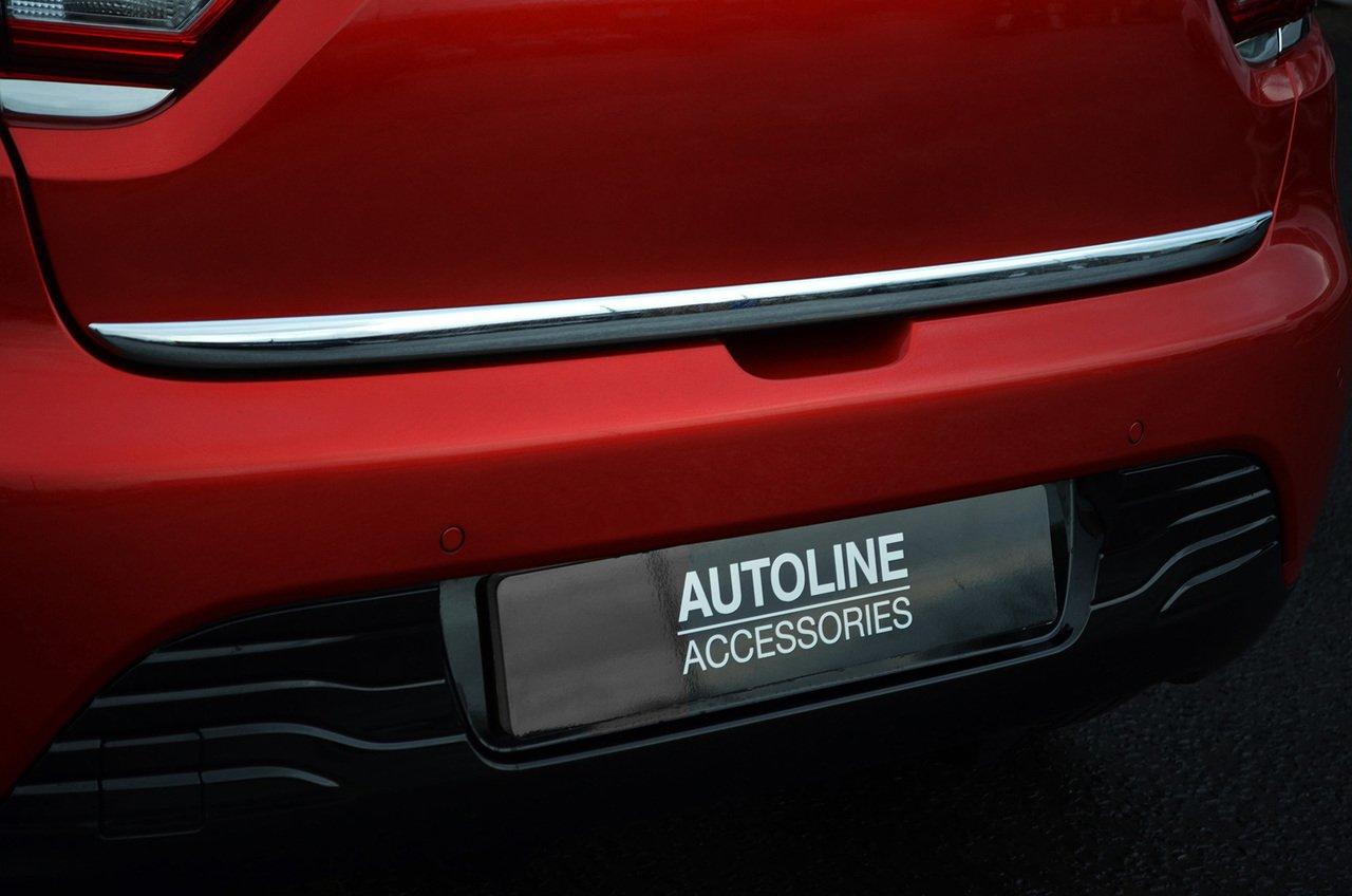 Tira de cromo para puerta trasera de portó n trasero para adaptarse a Clio IV (2012+) ALVM Parts & Accessories