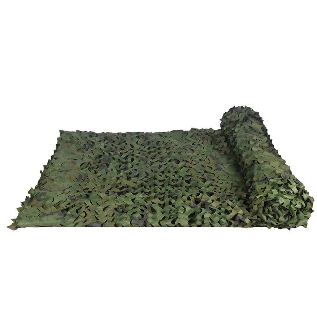 1.56m Filet Camo Visière Extérieure GR Filet de Camouflage en Mode forêt pour Le Camping en Plein air Camping en simulant Un Filet de Camouflage Multi-Taille en Option (Taille  1.5  8m) Armée Camo Filet