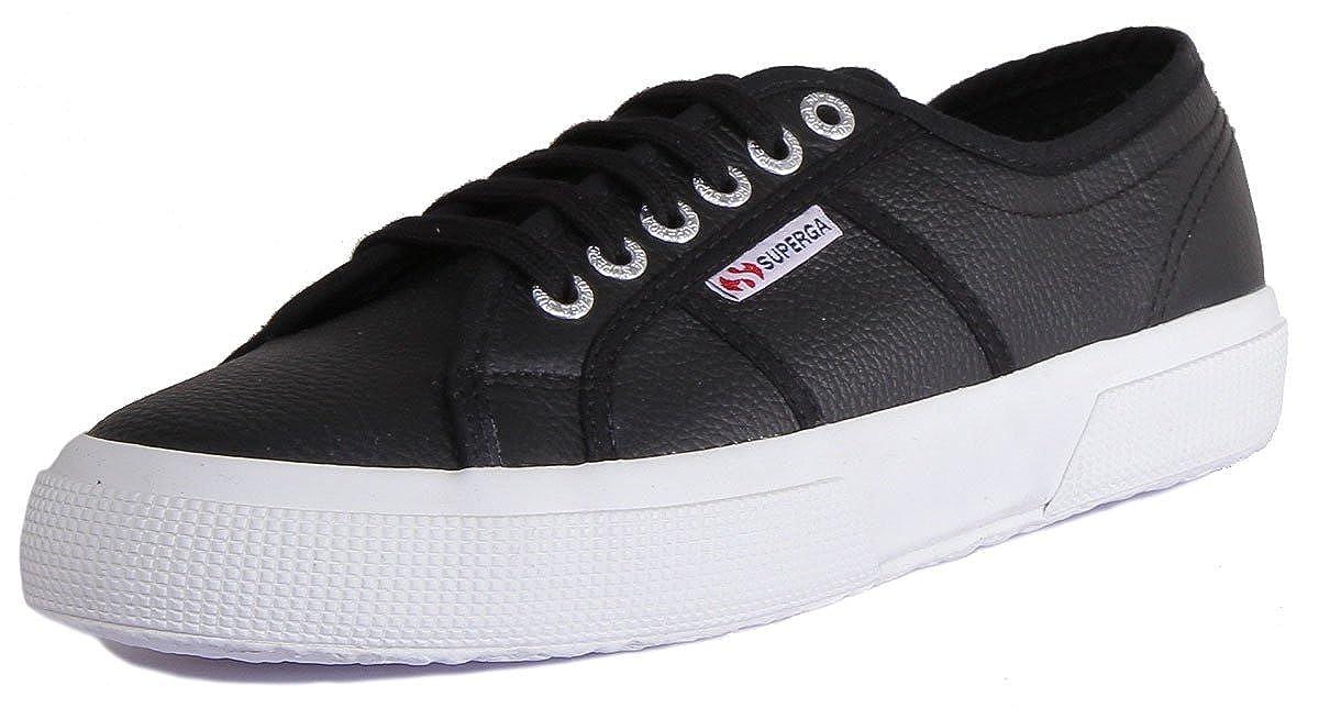 Black (Black 999) Superga Unisex Adults' 2750-Efglu Trainers