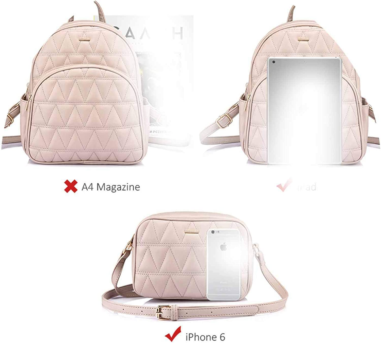PU leather schoolbag for girl teenager backpack shoulder purse for co 3 set 2018,Black,17 Inches