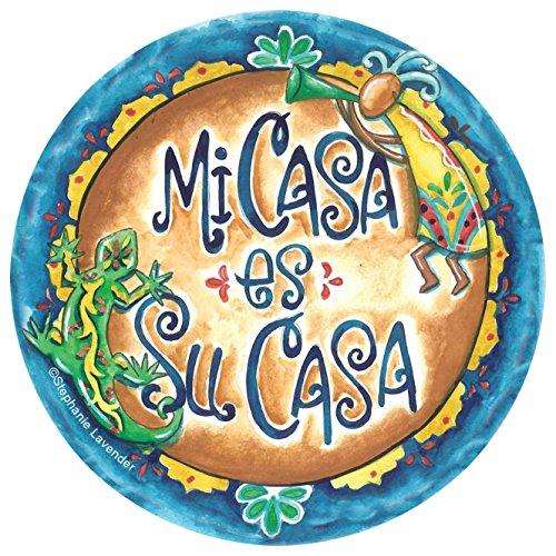 Thirstystone Stoneware Coaster Set, Mi Casa es Su Casa ()