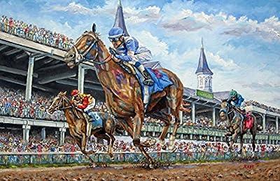 Kentucky Derby - Horse Racing Art