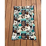 Mountain Dog Bed Crate Pad Cabin Decor Big Puppy Bedding Kennel Pad Lodge Gifts Fits 24x36 Washable