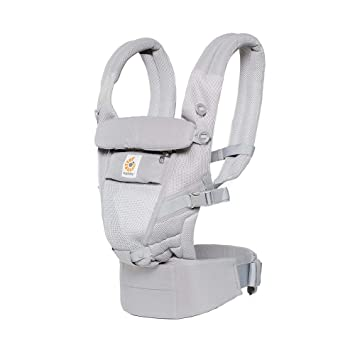 Ergobaby Adapt Cool Air - Mochila portabebés, color gris